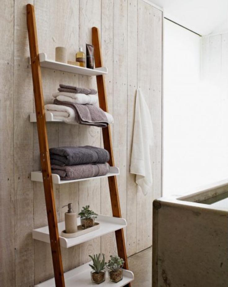 5 Euro Bathroom Design Trends You Should Use Right Now Spa Style Bathroom Shelves Bathroom Ladder