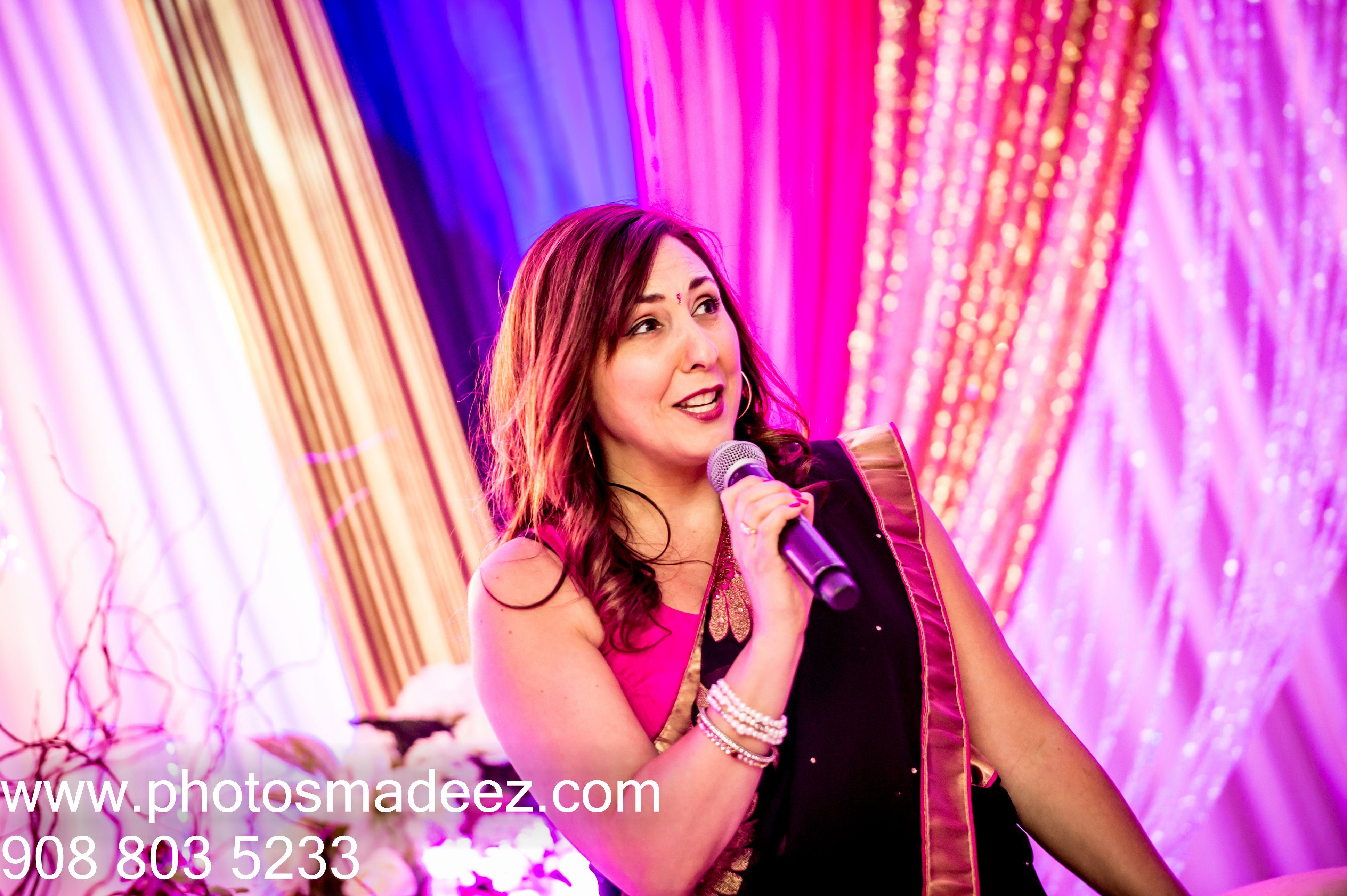 Bridesmaid giving speech at Wedding Reception at Mahwah Sheraton ...