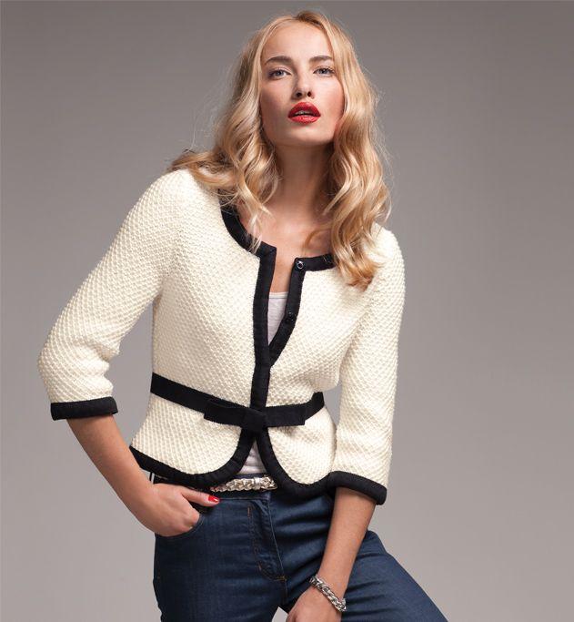 veste courte femme vetements pour moi pinterest veste courte femme vestes courtes et. Black Bedroom Furniture Sets. Home Design Ideas