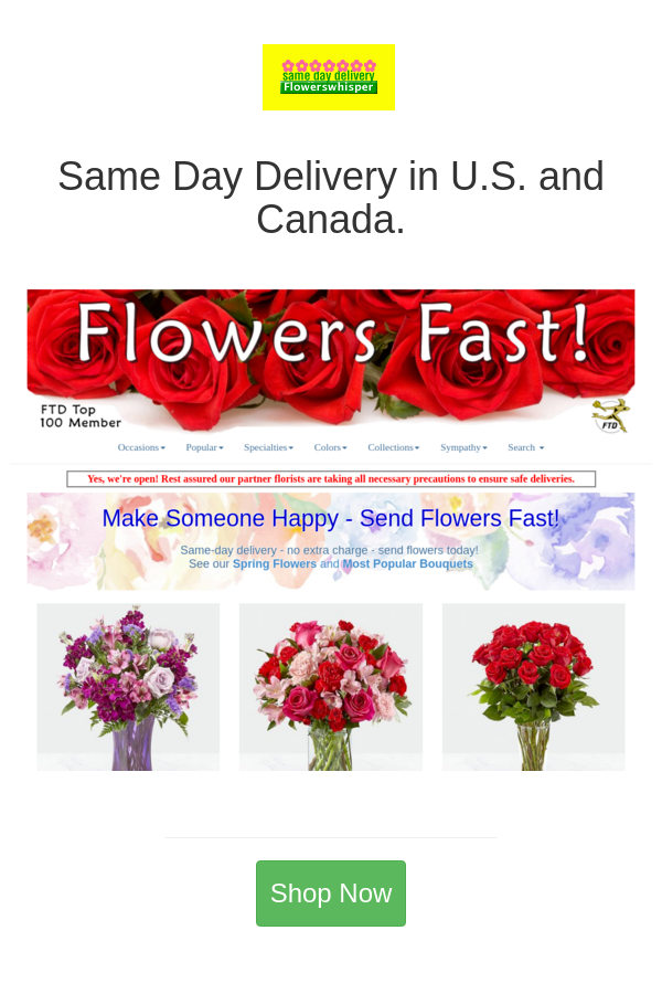 Best Deals And Coupons For Flowers Fast In 2020 Same Day Flower Delivery Flowers Delivered Online Flower Shop
