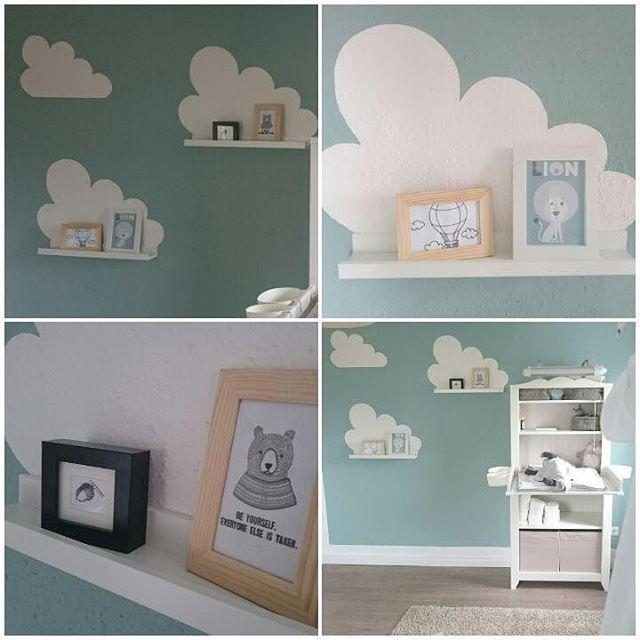Kinderzimmer Türkis wolkenliebe ikeawolken ikeababy ikea babyzimmer kinderzimmer