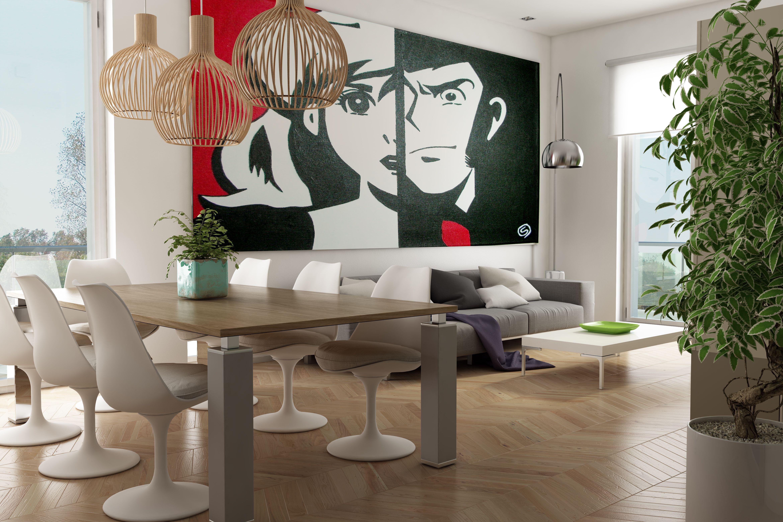 Rendering Soggiorno ~ Rendering interni soggiorno living room render