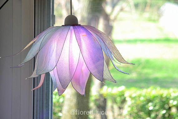 Kronleuchter Lila ~ Kronleuchter schattierungen von rosa und lila licht halten