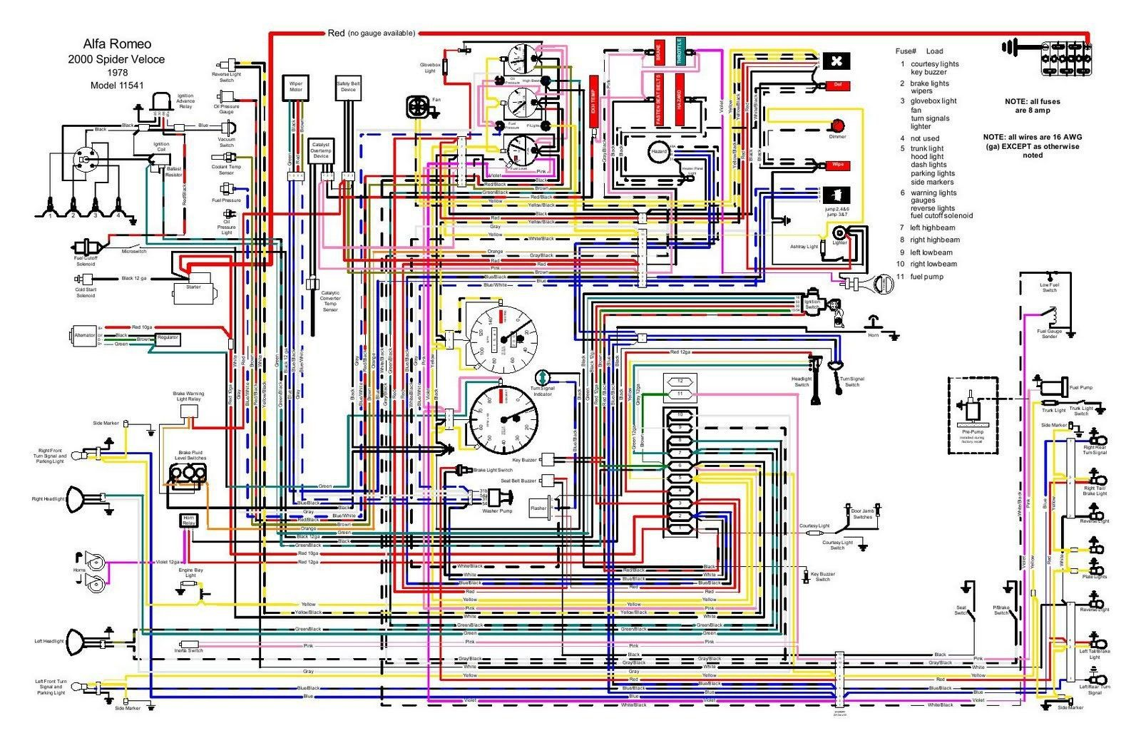 20 Simple Automotive Wiring Diagrams References Electrical