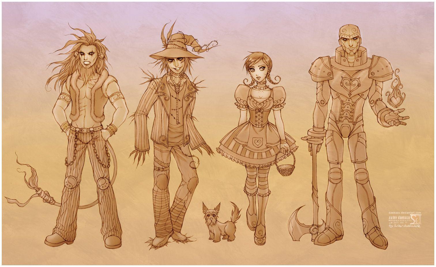Wonderful Wizard Of Oz By Daekazu Deviantart Com On Deviantart