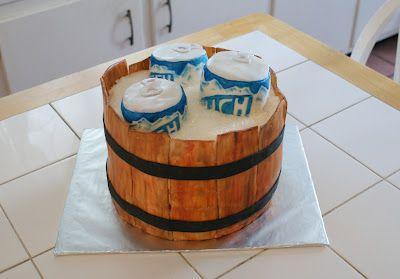 Beer Cake #cakesbymeg