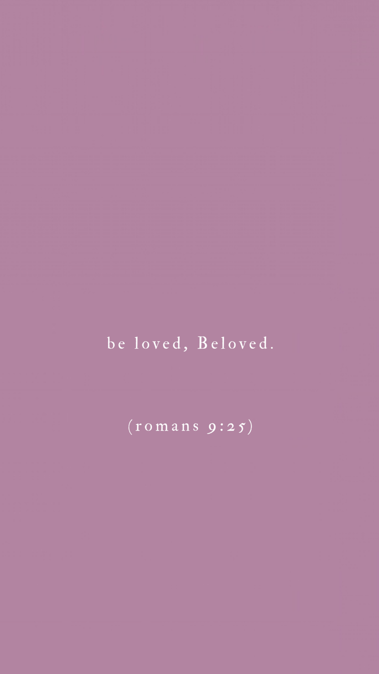 Be Loved BeLoved Romans 9 25 Christian quotes for women