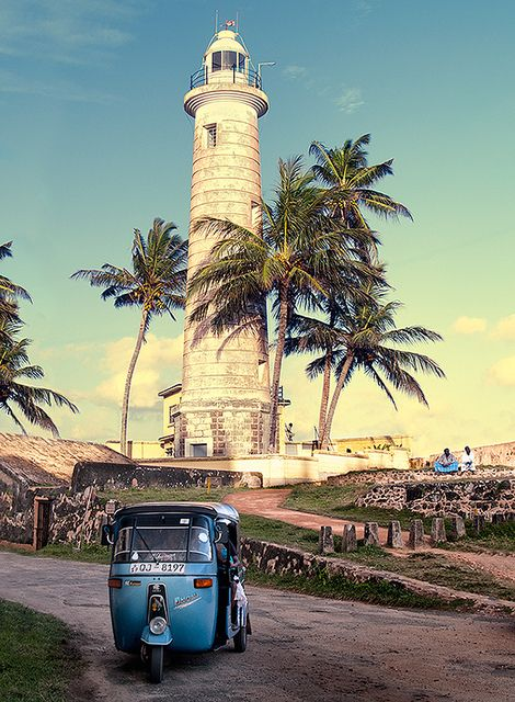 Sunset in the amazing city of Galle. Sri Lanka    Lovely city full of colonial architecture, because it was one of the main main port on the island during the Portuguese and the the Dutch colonial period.