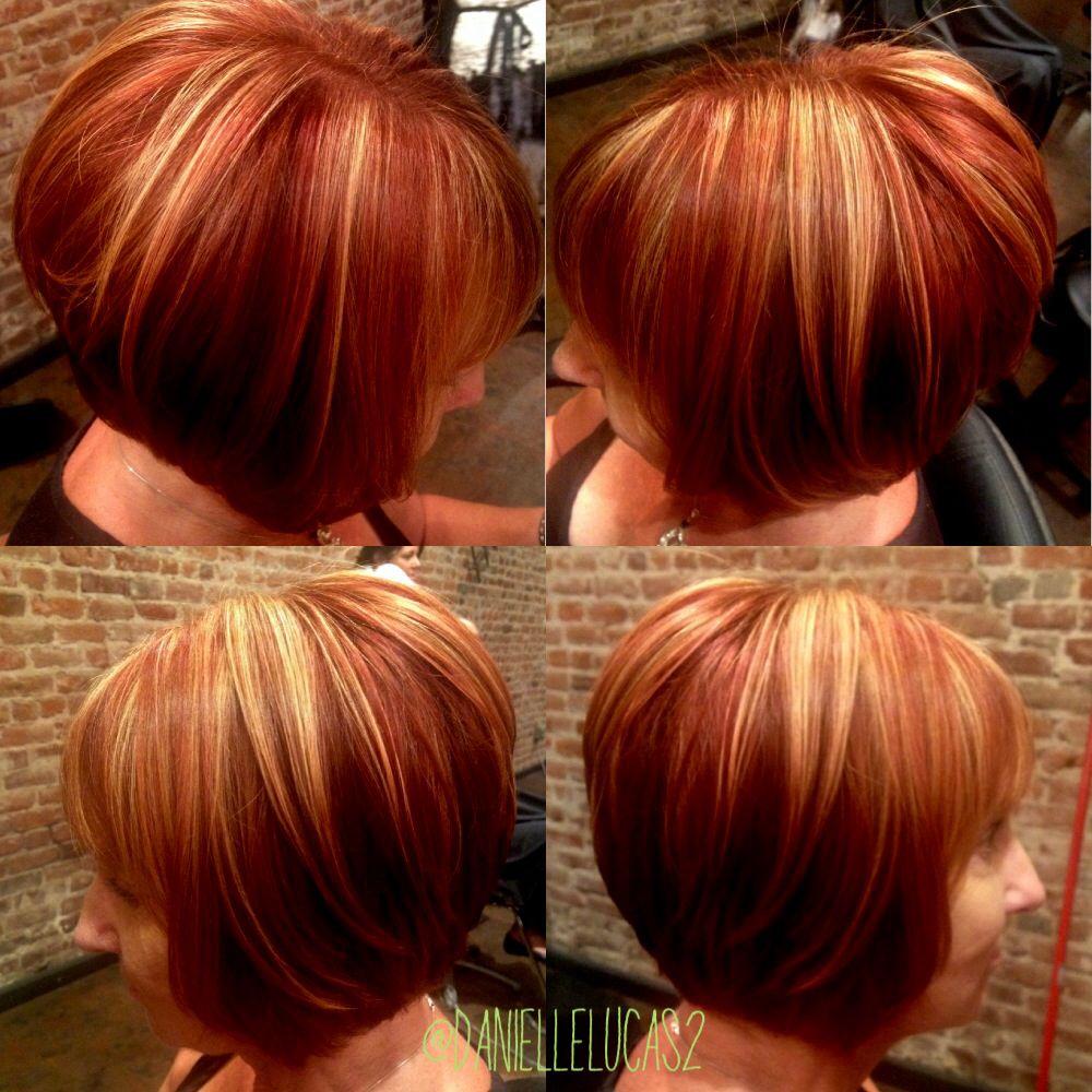 Aline Copper Red Head With Golden Blonde Highlights Fire Hair Red Hair With Blonde Highlights Red Blonde Hair
