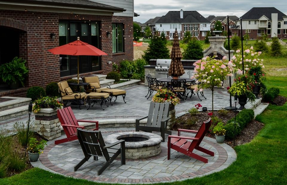 Pin By Motor City Landscaping Design On Www Motorcitylandscaping Com Building Design Landscape Design Rochester Hills