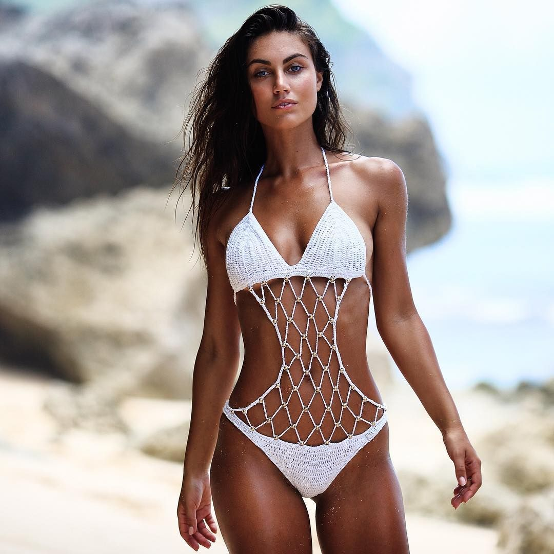 Beautiful brazilian crochet bikini