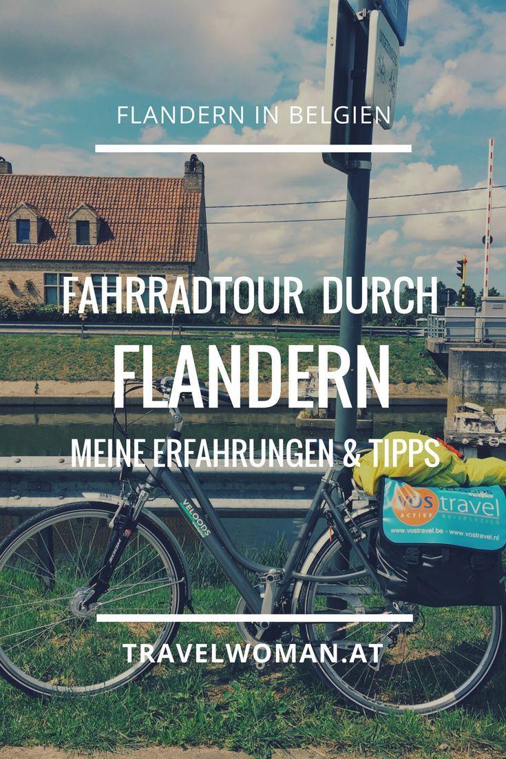 Mit Dem Fahrrad Durch Flandern Auf Der Grossen Flandernroute Der
