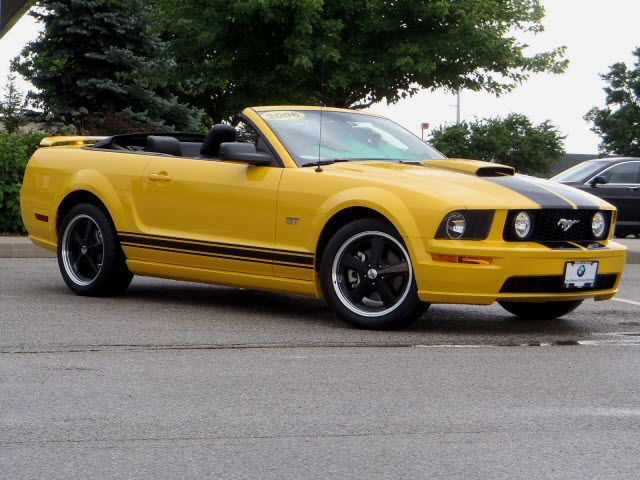 Ford Mustang 2006 Cream Color Gt Peoria Il
