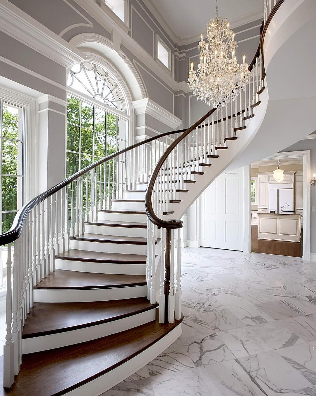 By wade weissmann architecture home stairs pinterest for Grand staircase design