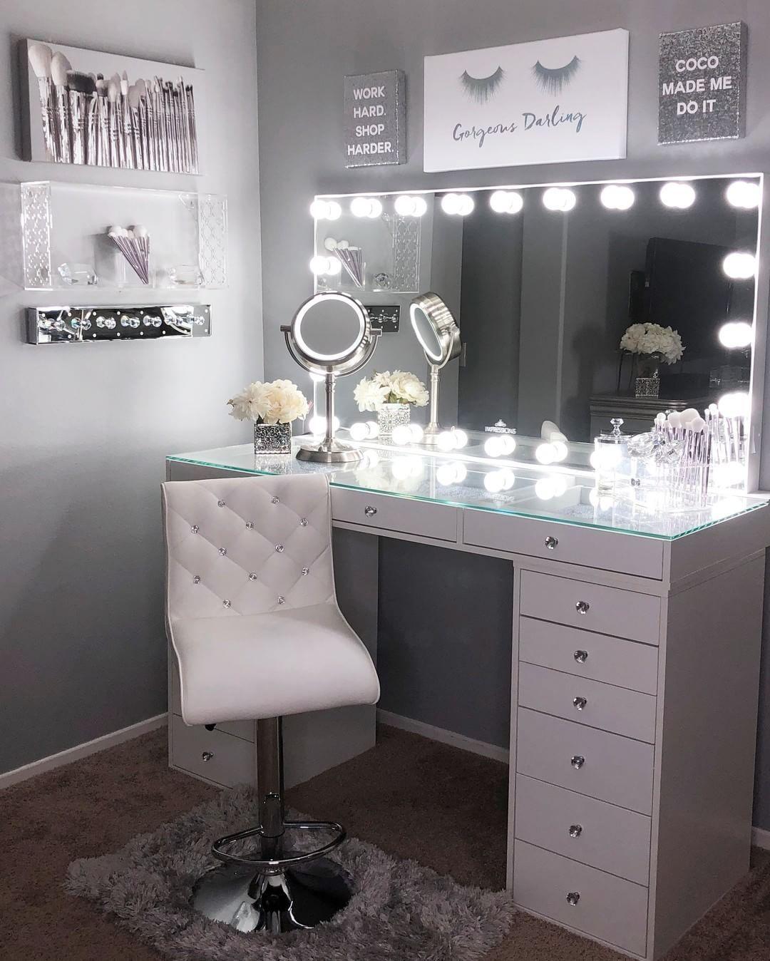 Pin On Makeup Room