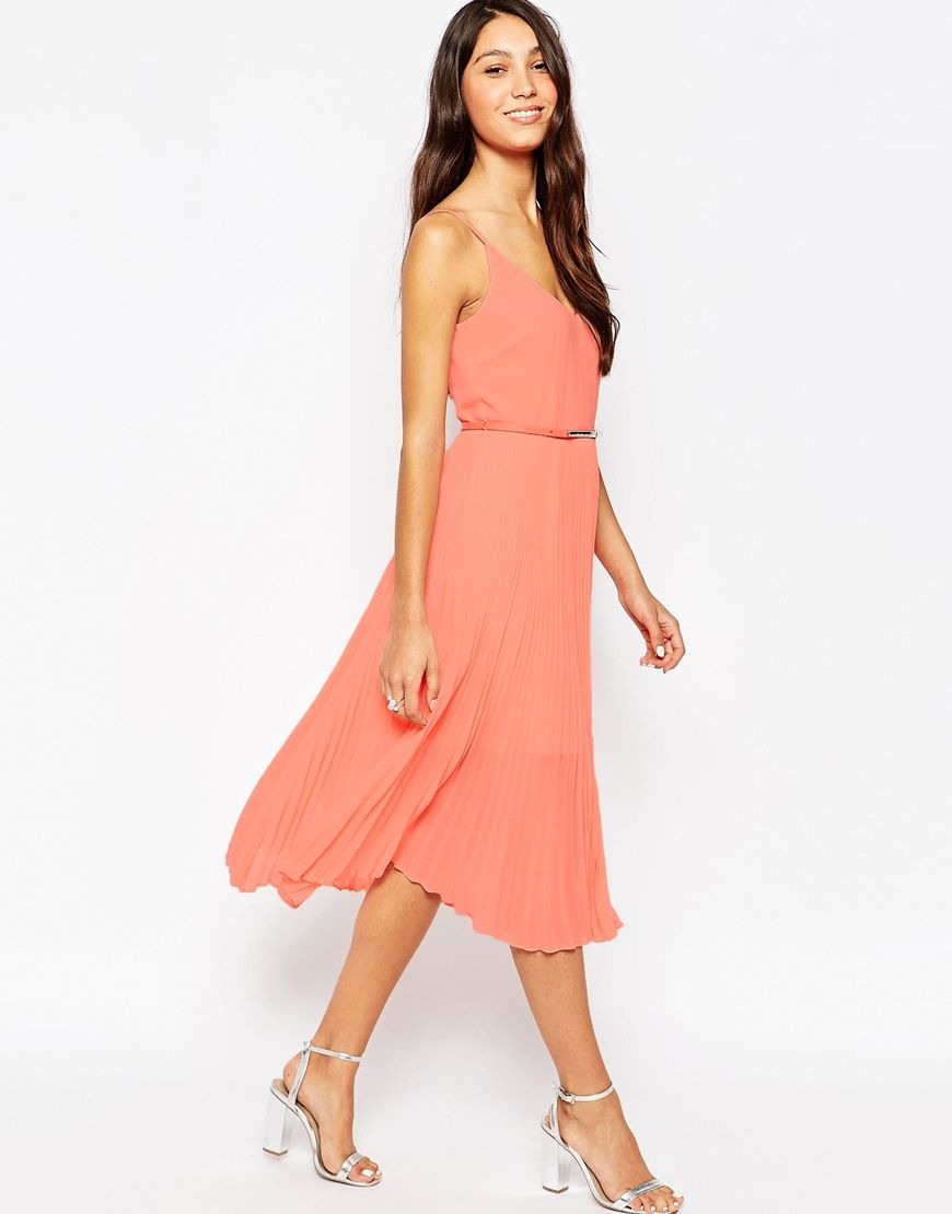 summer wedding guest dresses  midi dresses oasis and detail