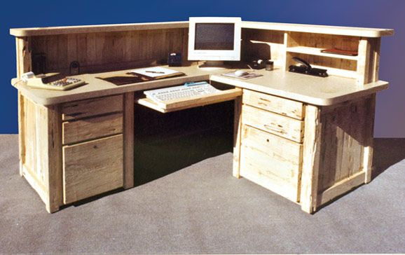 Corner Station Designer Wood Office Desks Ctod251a Home Office Desks Wood Office Desk Bars For Home
