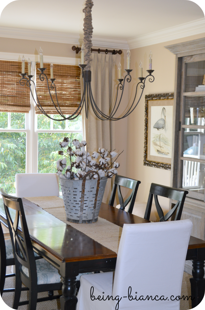 Kitchen and dining decor neutral decorating rustic transitional southern coastal decor - Transitional dining room chandeliers ideas ...