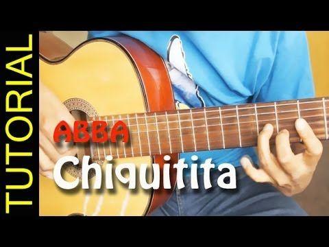 Como Tocar Chiquitita En Guitarra Acustica Abba Acordes How To Play Just Songs Cifras Musica