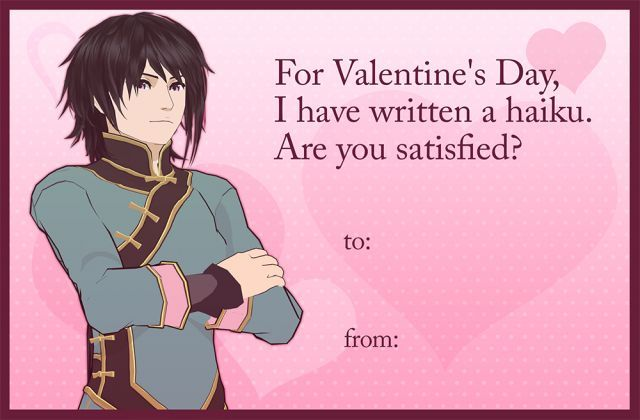 Rwby Valentine S Day Cards Nathan See This Later Or Now Or