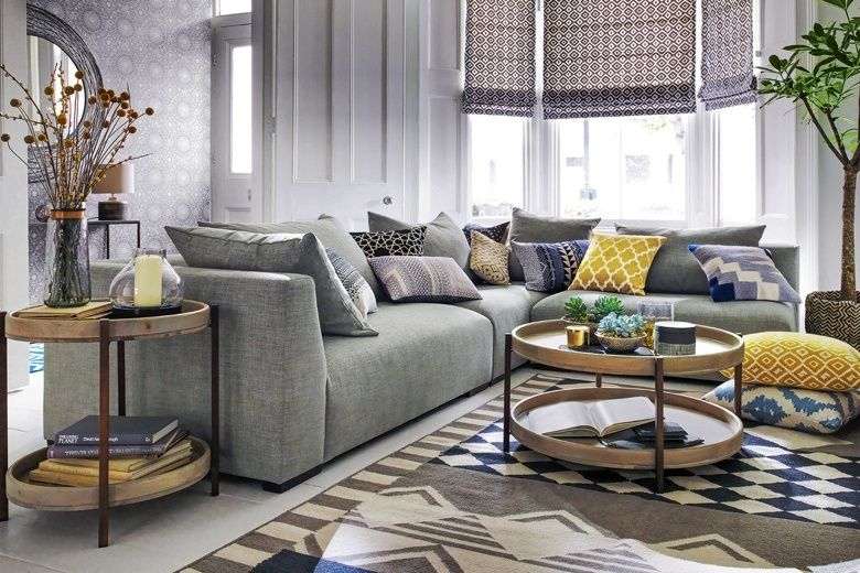 Shades Of Cool The Rise Of The Grey Sofa Living Room Grey Home Living Room Corner Sofa Living Room