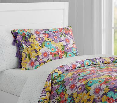Poppy Duvet Cover Full Queen Purple Bedding Gt Girl