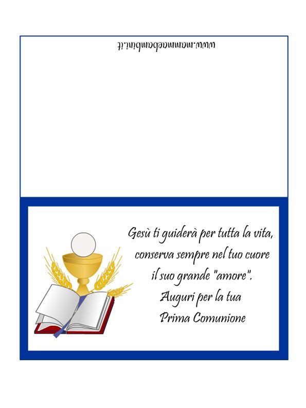 Risultati Immagini Per Preghiera Prima Comunione Bambini Prima Comunione Comunione Bomboniera