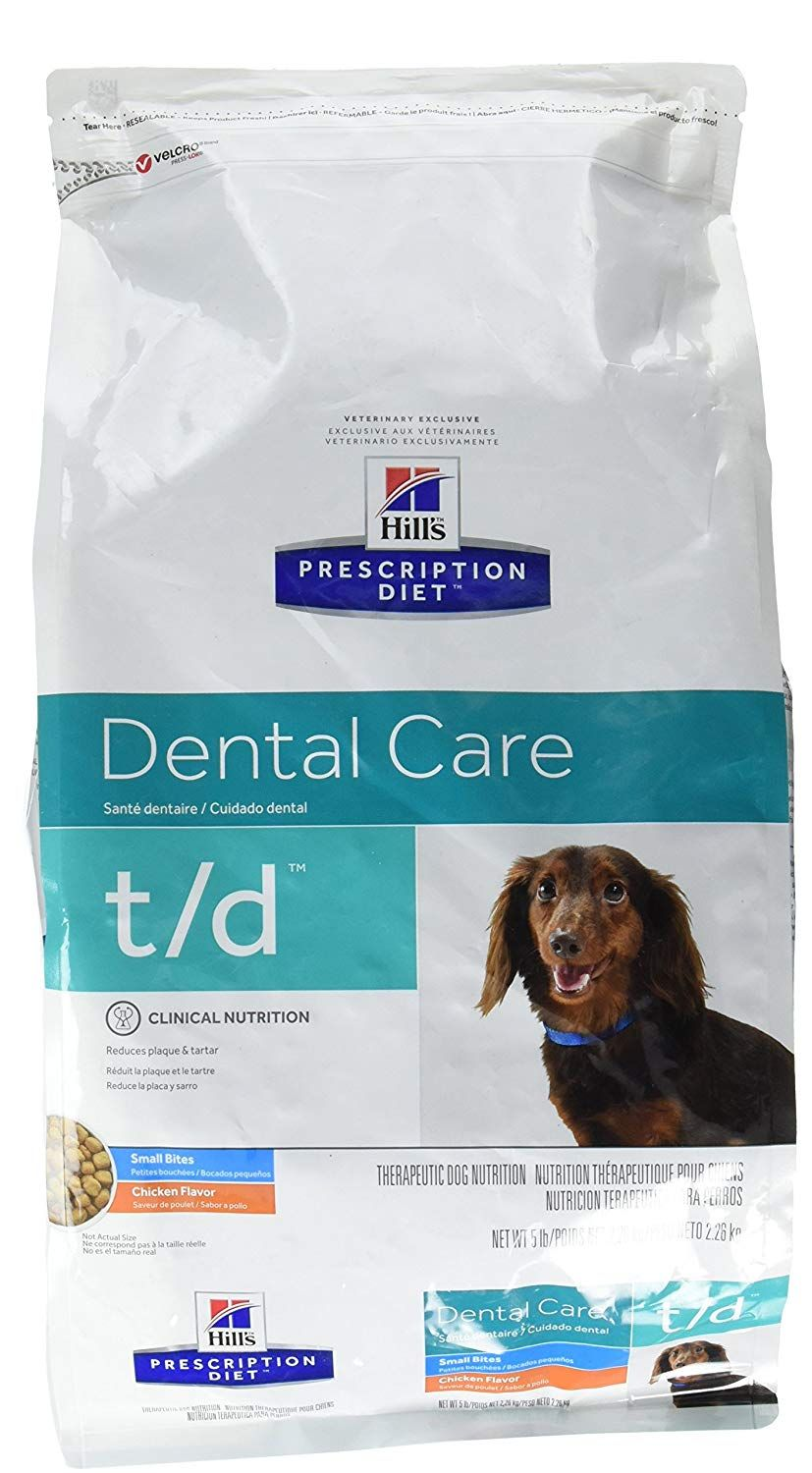 Hill S Prescription Diet T D Dental Health Small Bites Dog Food 5 Lb Hope That You Actually Enjoy Our Ph Dog Food Recipes Animal Nutrition Dry Dog Food