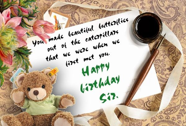 Pin By Victoria Blessing On Happy Birthday Birthday Wishes For Teacher Happy Birthday Cards Images Wishes For Teacher