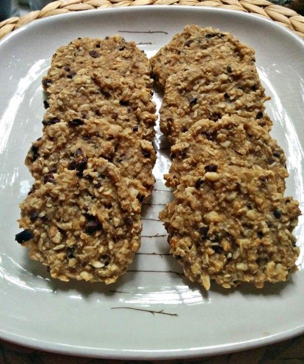 Muzlu ve Yulaflı Kolay Atıştırmalıklar #glutenfreierezepte