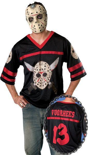 Men\u0027s Costume Jason Voorhees Mask with Jersey-Standard Halloween - food halloween costume ideas