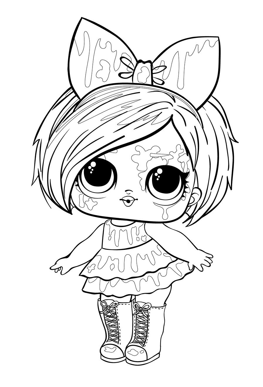 Lol Surprise Dolls Coloring Pages Print Them For Free All The Series In 2020 Cool Coloring Pages Cartoon Coloring Pages Coloring Pages