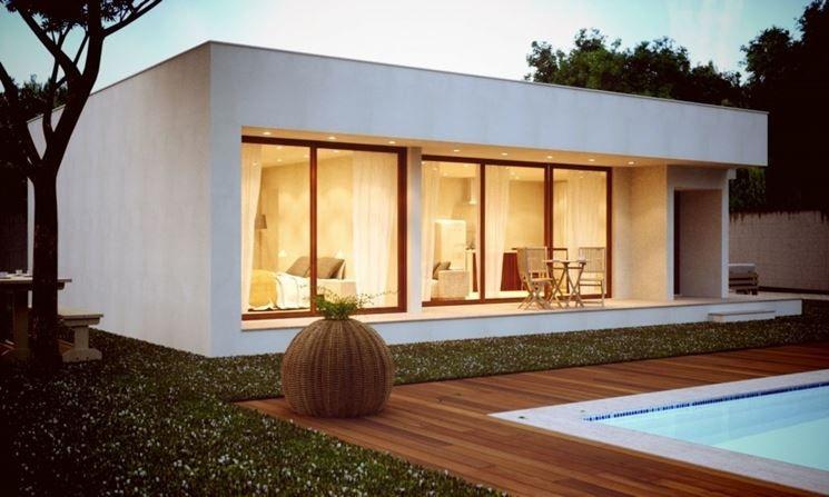 Casa Prefabbricata Cemento : Casa prefabbricata in cemento legno nel case