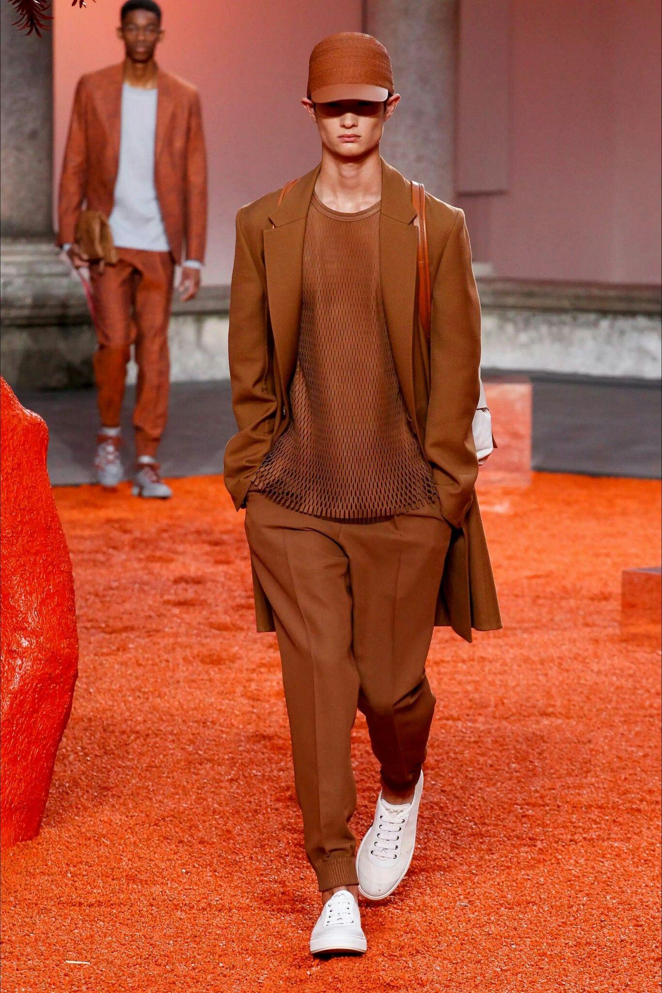 Última Moda Para Hombre · Ermenegildo Zegna spring 2018 menswear fashion  show f3b33776f51b