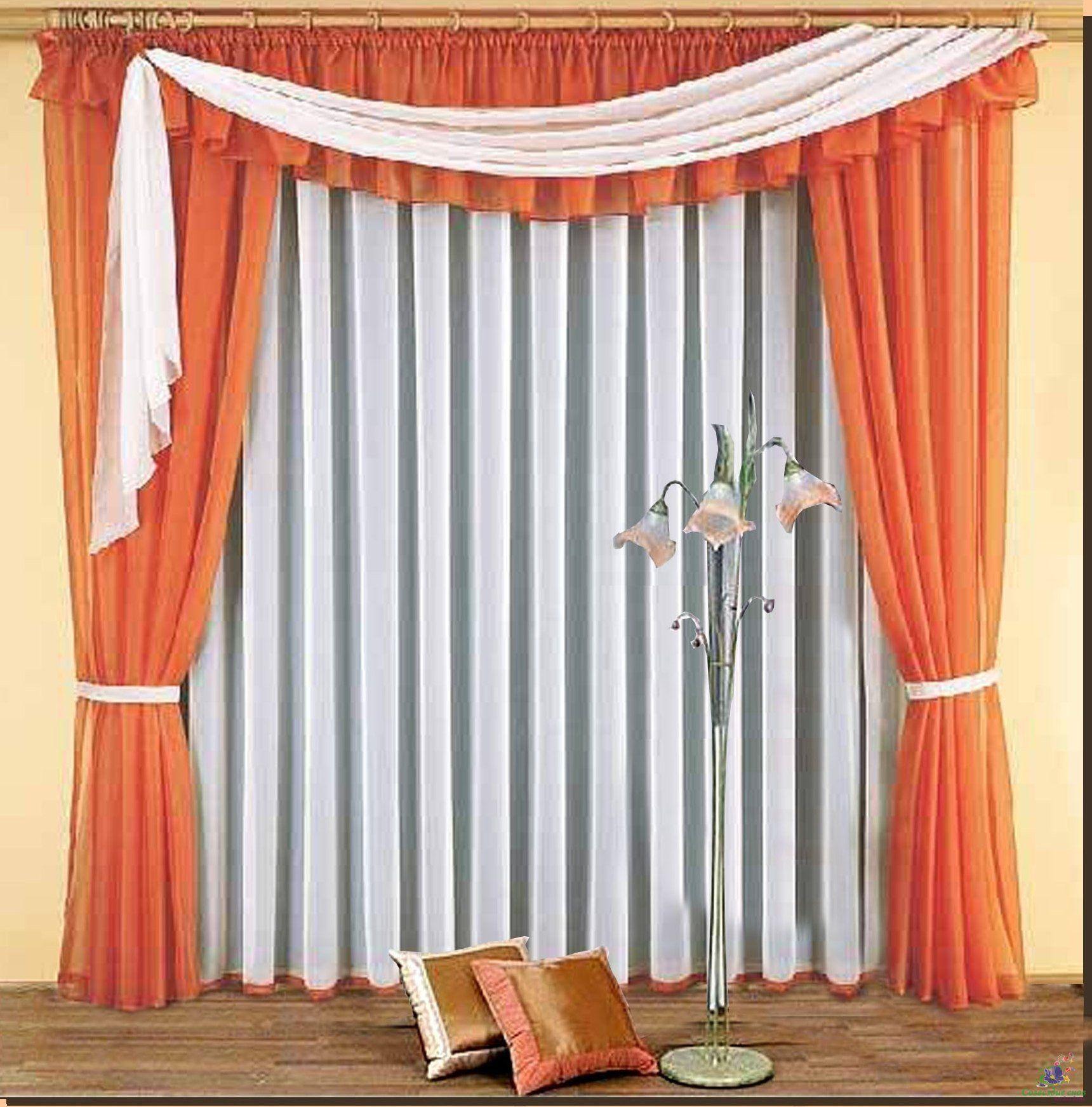 шторы для гостиной пошив своими руками - 7