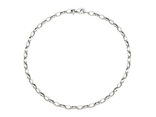 pin silver adjustable classic chain anklet inch ankle to sterling bracelets