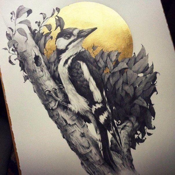 Изумительные птицы от художницв Vanessa Foley / Удивительная еда!