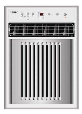 Haier Hwvr10xck 10 000 Btu Casement Slider Room Air Conditioner