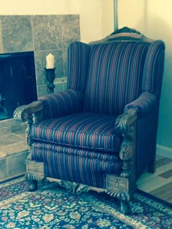 Early 1900's sofa and chair in beautiful condition ...