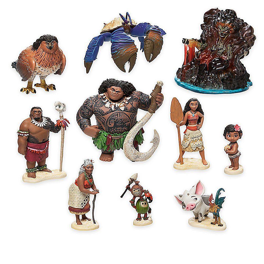Amazon Com Disney Moana Figure Play Set Toys Amp Games