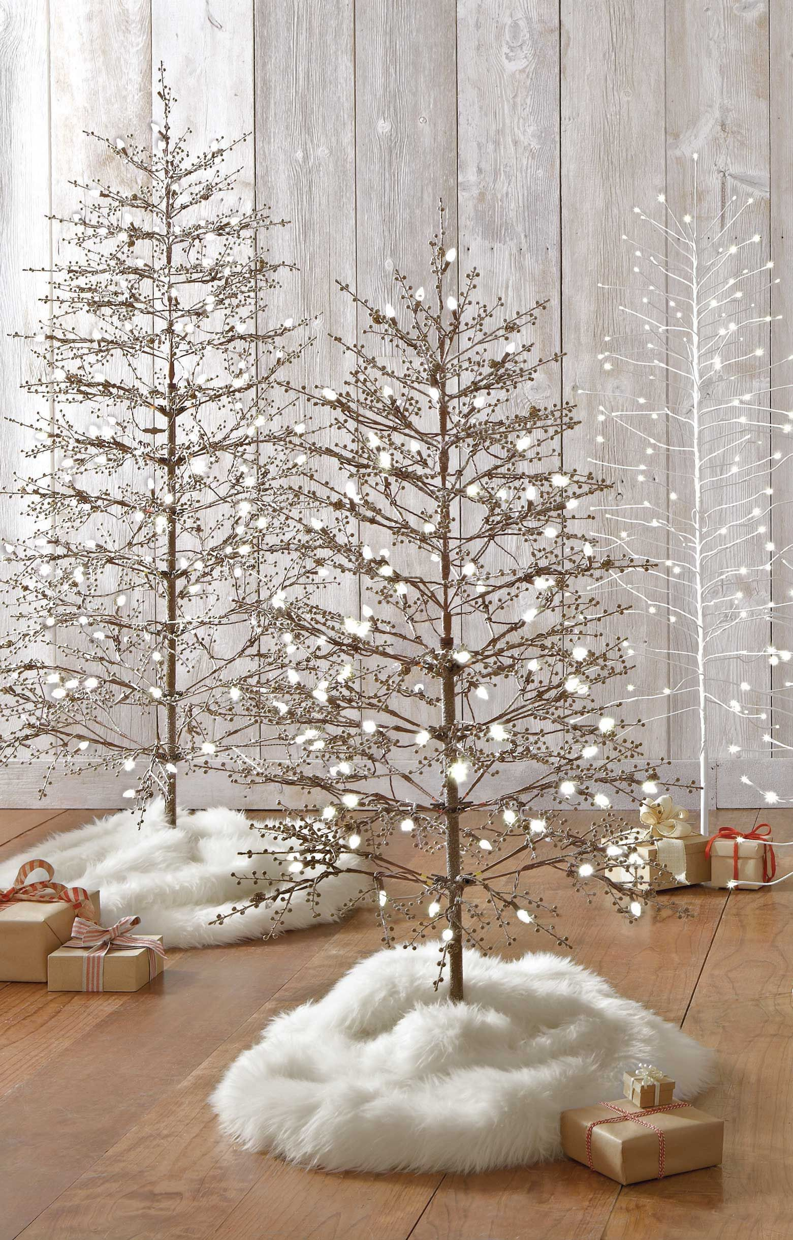 Transform Your Living Room Into A Snow Covered Forest With