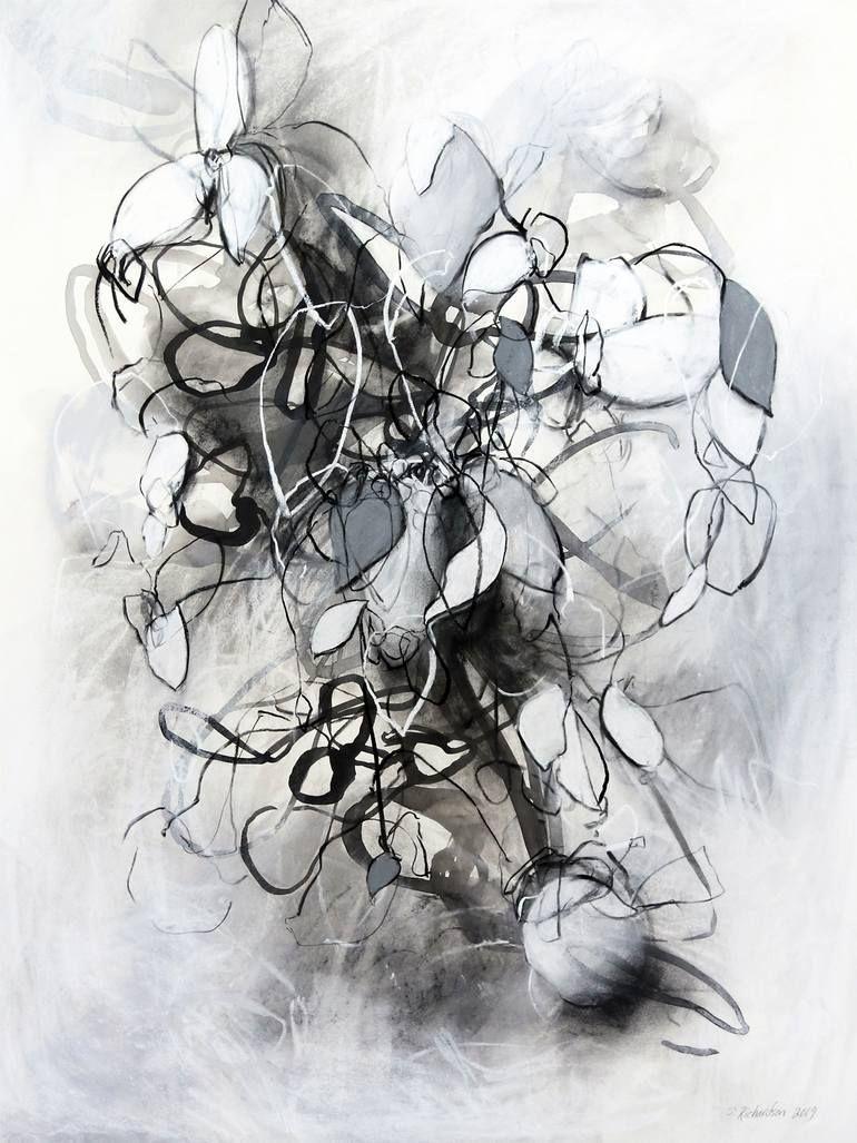 Melodic Minor Nº 10 Drawing Abstract Drawings Nature Drawing Original Drawing