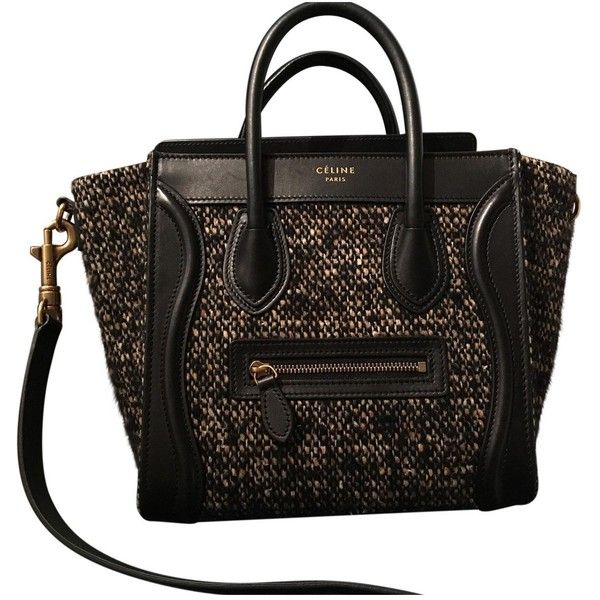 Pre-owned - Wool handbag Celine fICGIx2Q
