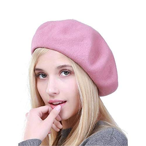 Easy On The Eye Charming And Cozy Outdoor Decorating: AliveGOT Women Beret Hat Wool Beret Beanie Cap Classic