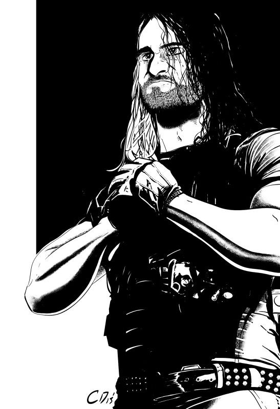 Somones Drawing Good Huh Seth Freakin Rollins Seth Rollins Drawings