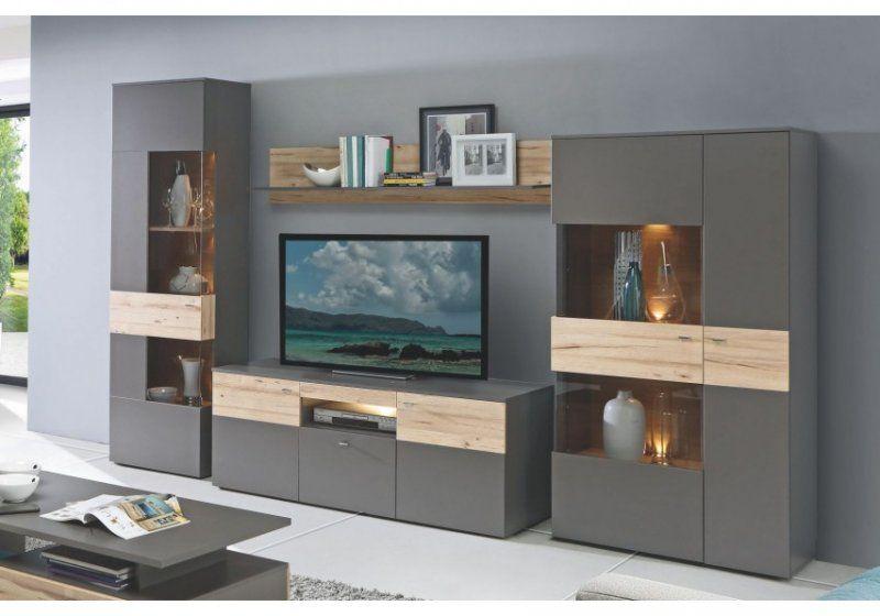 Elegant Wohnzimmerschrank Grau Einrichtungsideen Di 2018 Sofa
