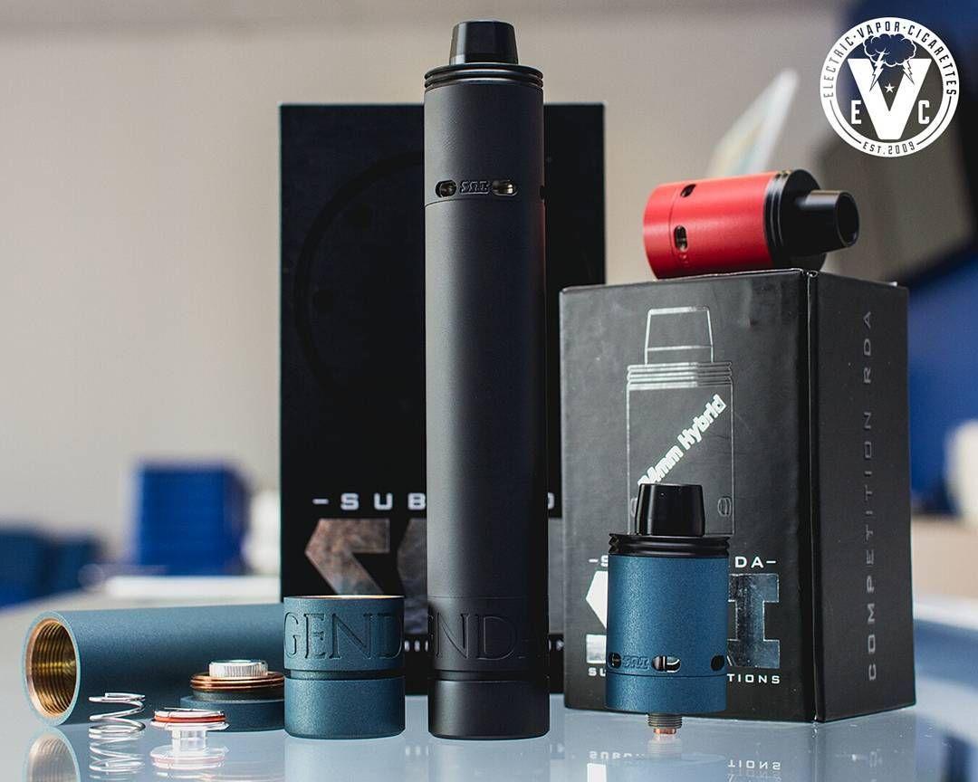 vape setup of the day atty subzero competition rda mod legendary