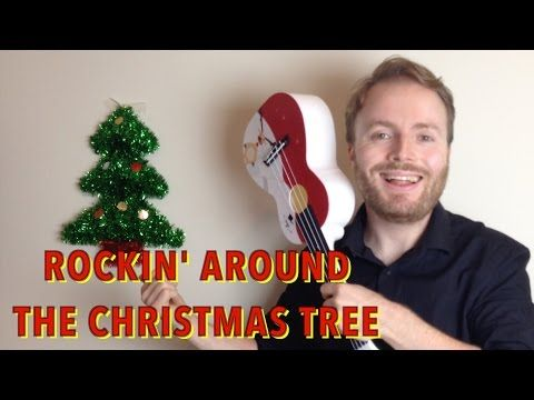 Rockin' Around The Christmas Tree - EASY UKULELE TUTORIAL ...