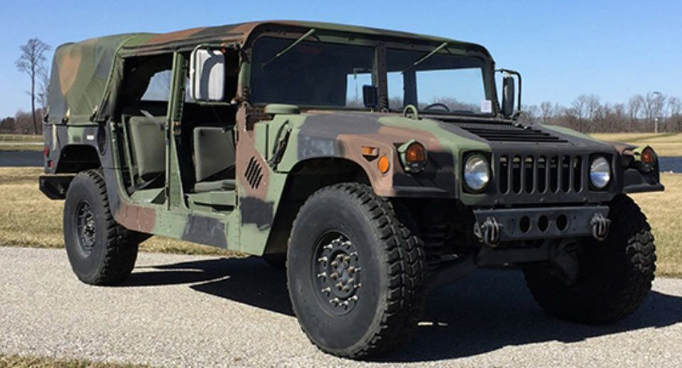 Confuse Your Neighbors With This Ex Military Humvee