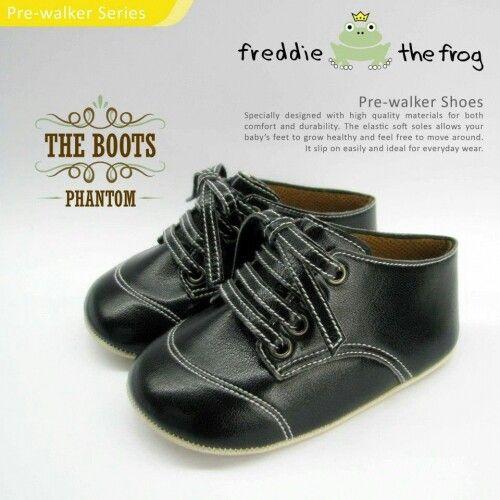 #Sepatu freddie the frog (Phantom boots) ~ 90ribu. Ukuran Sol : No. 3 = 11 cm (untuk umur sekitar 0-6 bulan-) No. 4 = 11.5 cm (Sekitar 6-9bulan-) No. 5 = 12 cm (Sekitar 9bln-1 tahun-)